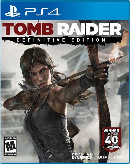 Jogo Tomb Raider: Definitive Edition Para Playstation 4