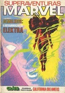 Gibi Hq Superaventuras Marvel Nº 41 Formatinho