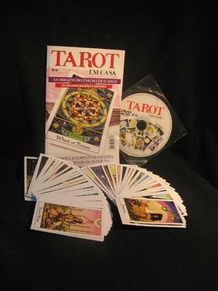 Tarot Em Casa - 78 Cartas - Dvd Com Videoaula Passo A Passo.