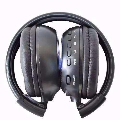 Fone Ouvido Bluetooth Headset Sem Fio Rádio Fm Stero