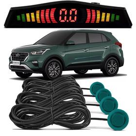 Sensor De Estacionamento Ré Hyundai Creta Cor Verde Floresta