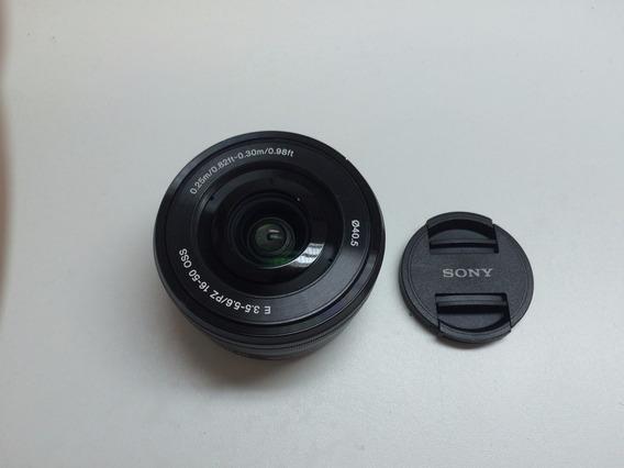 Lente Sony Alpha Nex Selp1650 16-50mm Oss