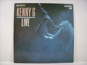 Ld - Laserdisc Kenny G - Live