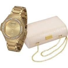 Relógio Mondaine Analógico Casual 69216lpmvde1 + Bolsa