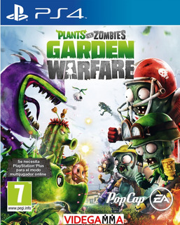 Plants Vs Zombies Garden Warfare - Playstation 4