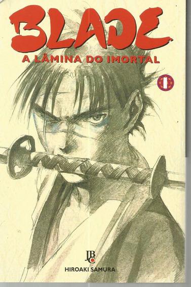 Blade A Lamina Do Imortal 01 - Jbc 1 - Bonellihq Cx337 L19