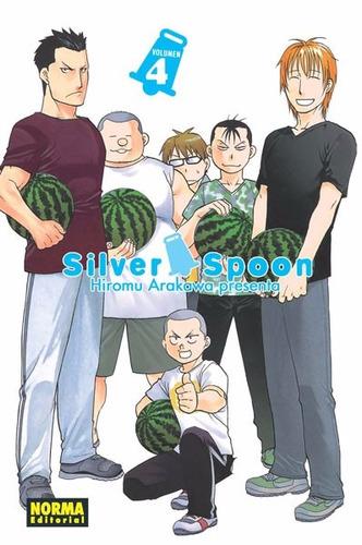 Manga Silver Spoon Tomo 04 - Norma Editorial