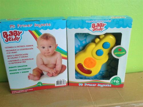 Sonajero Para Bebes Luces Y Sonidos Electronicos Baby Jeidy
