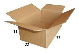 25 Caixas De Papelão 33 X 22 X 11 Tipo 4 Correio Pac Sedex