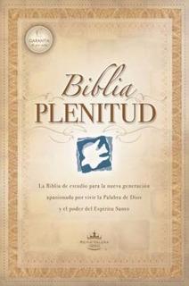 Biblia De Estudio Plenitud Cartulina + Funda