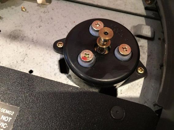 Motor Toca Disco Tecncics Sl23 #nao Vendo Ler Descricoes