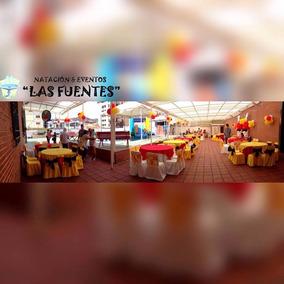 Salón Con Piscina, Alquiler - Cumpleaños - Fiestas - Eventos