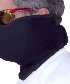 Mascara Cuello Rompeviento - Neopreno Y Polar