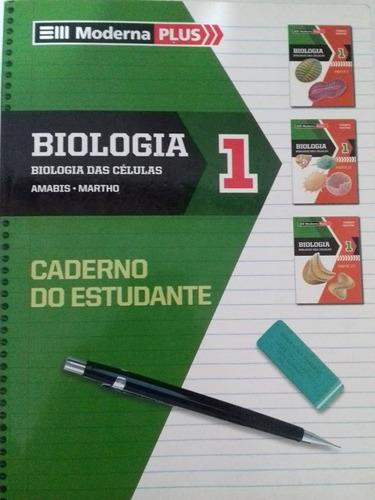 Biologia Das Células Vol1-moderna Plus- Caderno Do Estudante