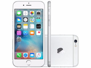 iPhone 6 Apple 64gb Prata 4g
