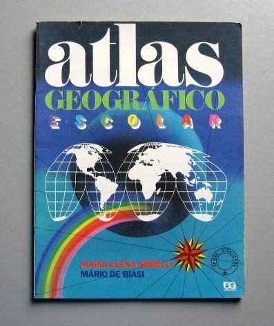 Atlas Geográfico Escolar - Simielli - Biasi