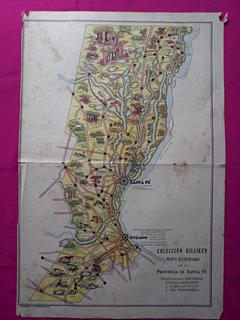 Santa Fe Coleccion Billiken Mapas Ilustrados