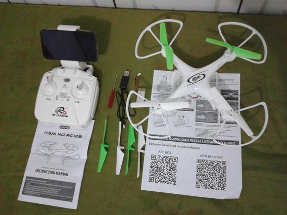 Drone Retorno Automatico Câmera Wifi Tempo Real Sem Cabeça