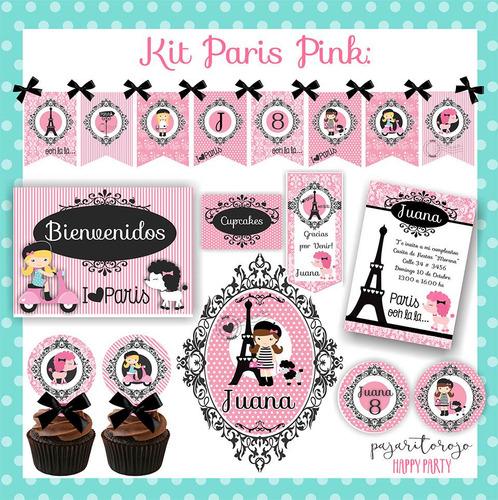 Kit  Paris Rosa