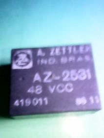 Rele Az-2531. 48volts. A. Zettler. Pacote Com 5 Peças
