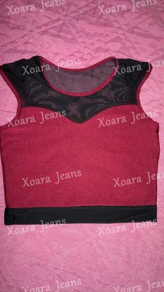 Top Lycra Comb. Microtul Vs Colores - Xoara Jeans