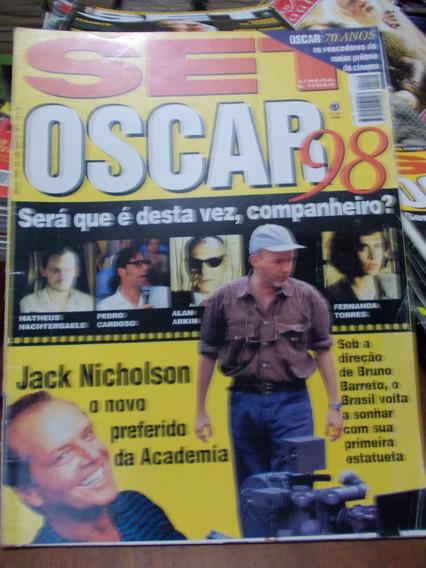 Revista Set - Oscar 98/jack Nicholson/alan Arkin/fernanda To