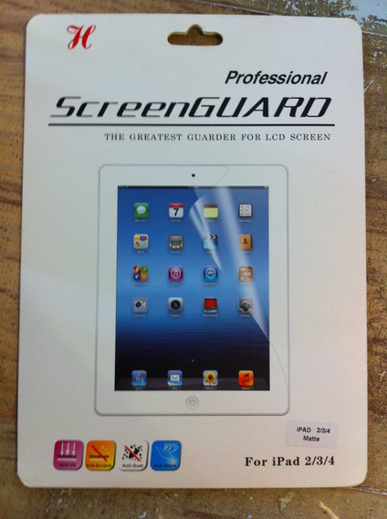 Película Protetora Fosca Para iPad 3,4