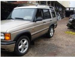Sucata Land Rover Discovery V8 Gas 2001 Retirada De Peças