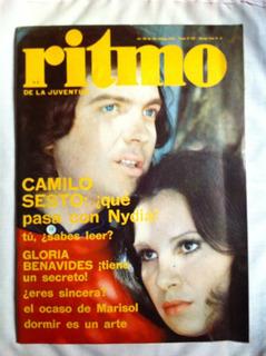 Revista Ritmo Camilo Sesto Nº 448, Abr 1974 Marisol. Bowie