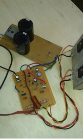 Placa Montada De Amplificador De 600wrms