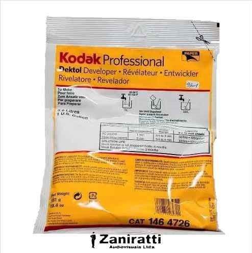 Revelador Kodak Dektol - Rende 3,8 Litros