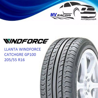 Llanta Windforce 205/55 R16 Catchgre Gp100