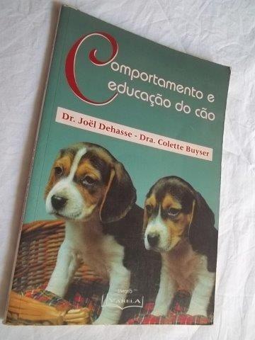 * Livros - Comportamento E Educação Do Cão - Animais