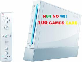 Cartão Sd - Sdcard P/ Nintendo Wii Emulator Nintendo-64 Wii