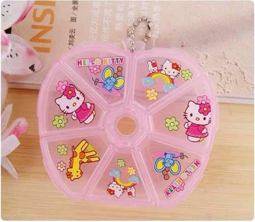 Pastillero De Hello Kitty