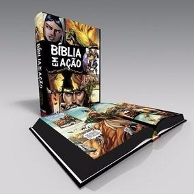 Bíblia Em Acao Em Quadrinhos Capa Dura Original