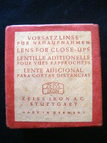 Zeiss Opton Lente Alemã Fotografia S 40,5 .916/0,5