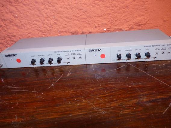 2 Sony Bvr-50 Remote Control Proficional (ref:01a)