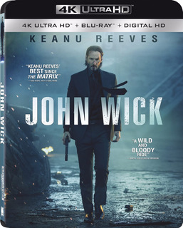 4k Ultra Hd + Blu-ray John Wick