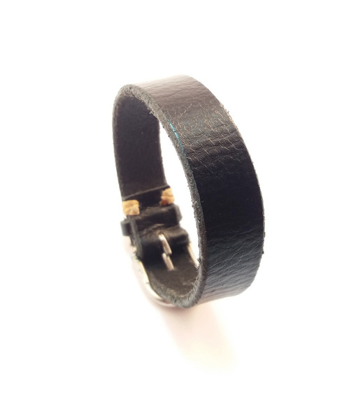 Pulseira / Bracelete Em Couro Masculino