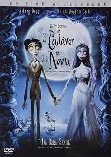 El Cadaver De La Novia Tim Burton Pelicula Original Dvd
