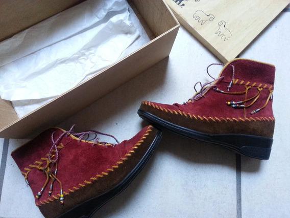 Zapatos Mujer De Nobuk Nuevos