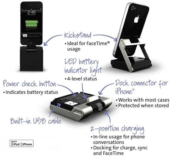 Dock Carregador, Bateria Extra Apple iPhone Kensington