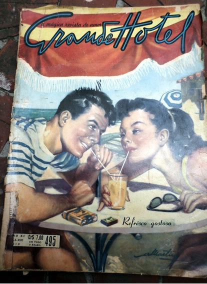 Revista Grande Hotel 1957 Francisco Dantas Eliana Fotonovela