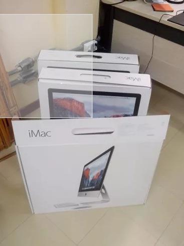 Caixa Vazia De iMac 21,5 - 2015