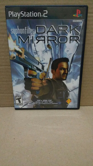 Jogo Playstation 2 Syphonfilter Dark Mirror