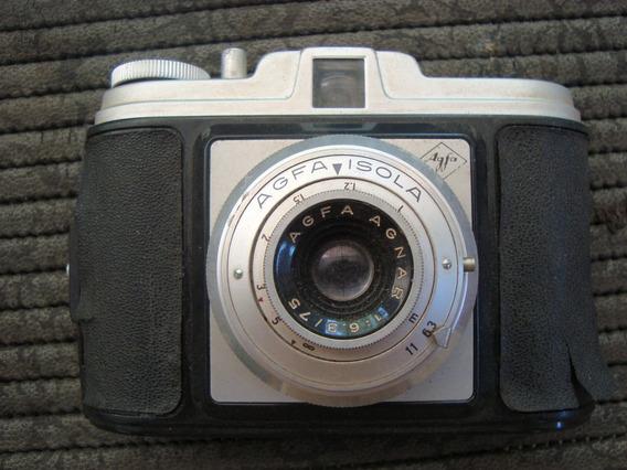 Antiga Camera Fotografica Agfa Isola