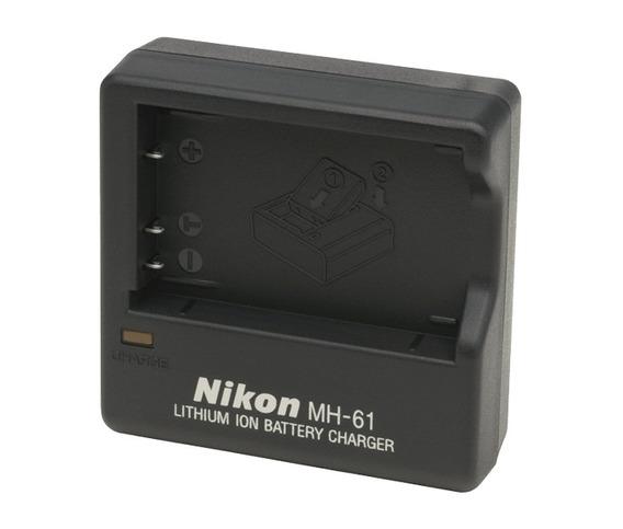 Carregador De Baterias Nikon Mh-61