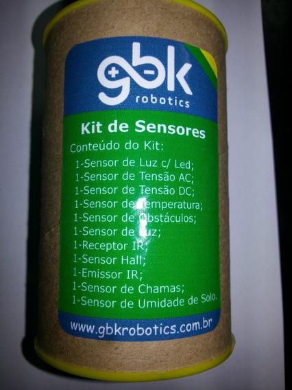 Kit Para Pic / Arduino Com Sensores Da Gbk Robotics
