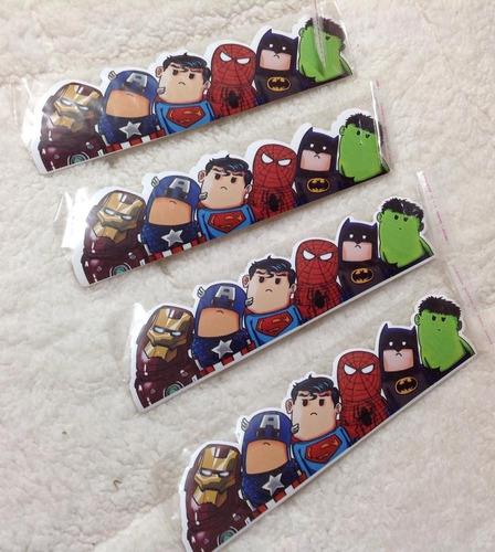 Stickers Avengers Liga De La Justicia.